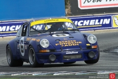 Albert Arciero - 1973 Porsche 911 Carrera RSR 2.8-Liter three wheeling through turn eleven.