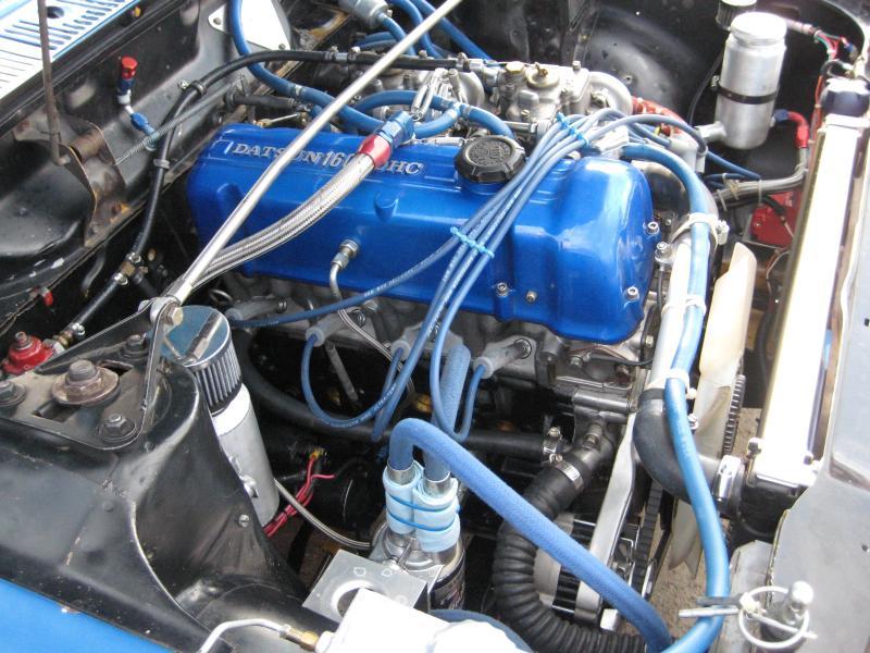 Duane's Datsun 510 Engine