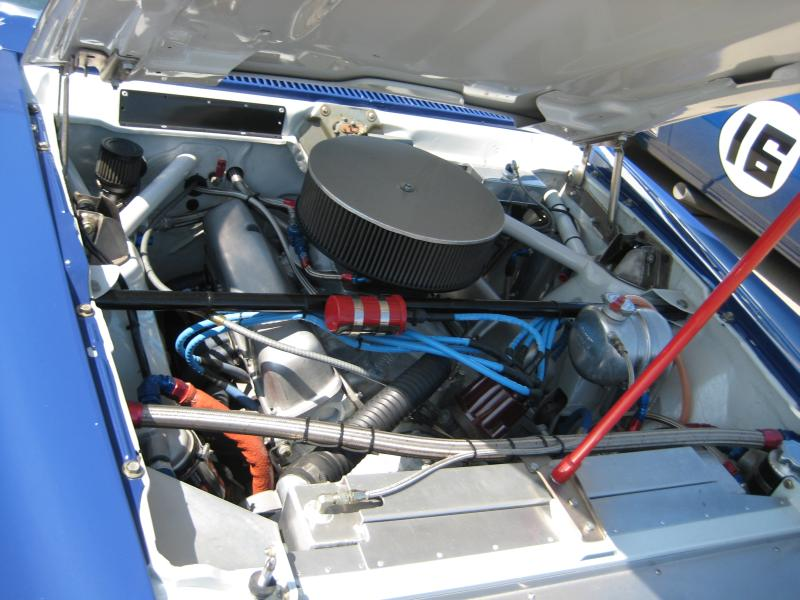 Trans-Am Javelin Engine