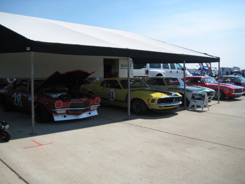 Fine Cars at Maeco's Tent