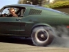 Bullitt doing a burn out
