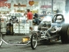 Old School Dragster in Action