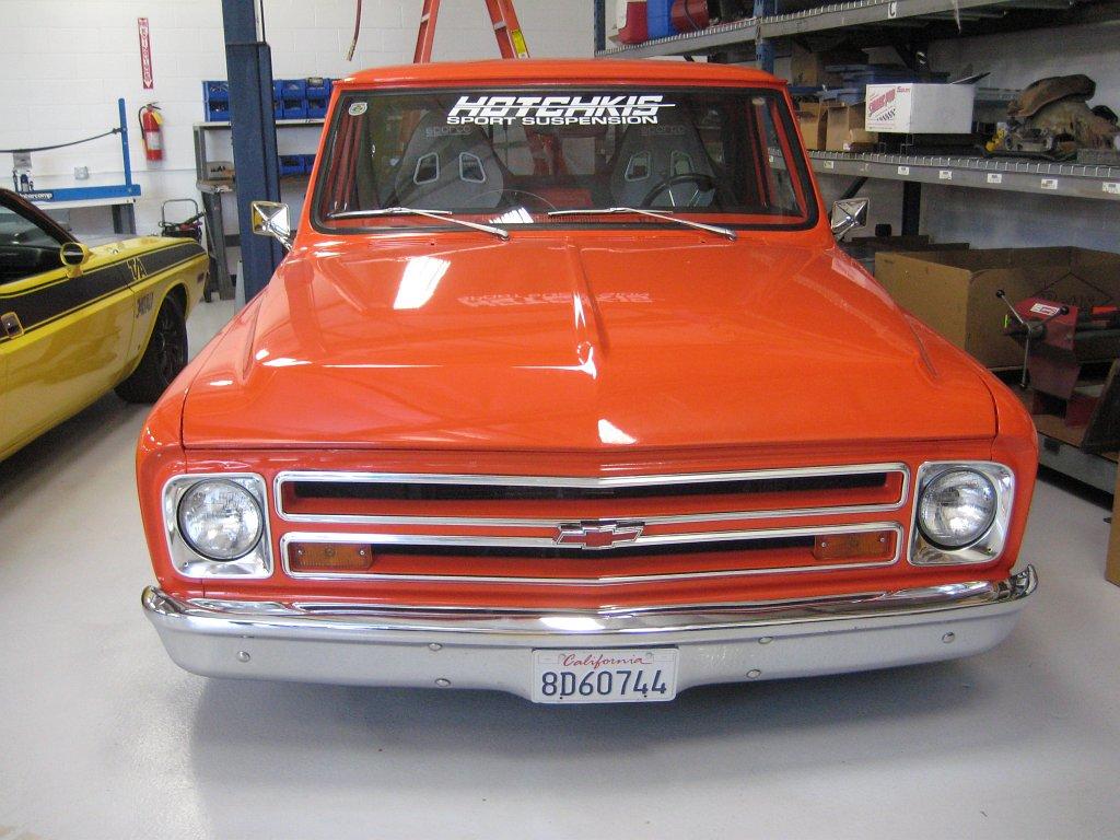 Hotchkis modified Chevy Truck