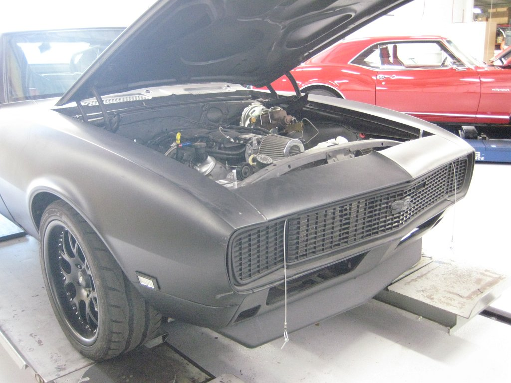 Customer Camaro about to get the Make Over