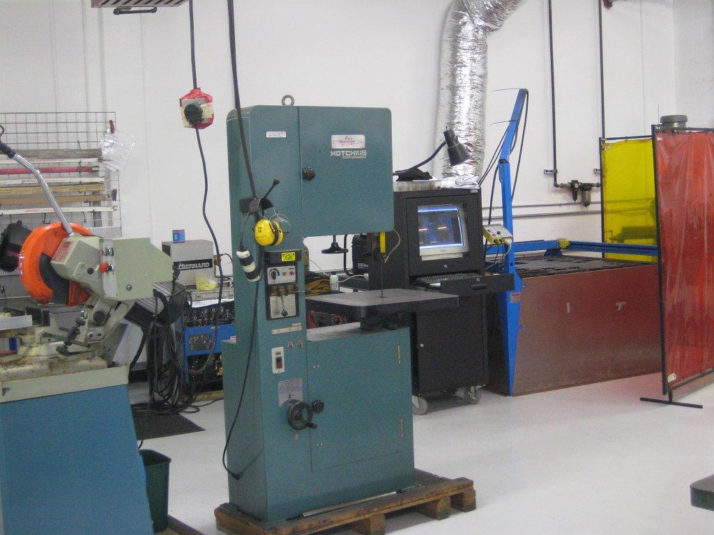Hotchkis R&D machining area