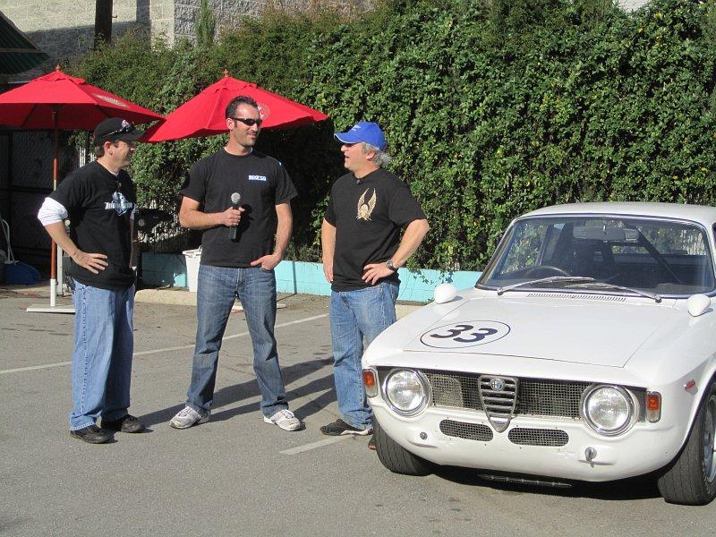 Anthony Rimicci's 1965 Alfa Sprint GTA