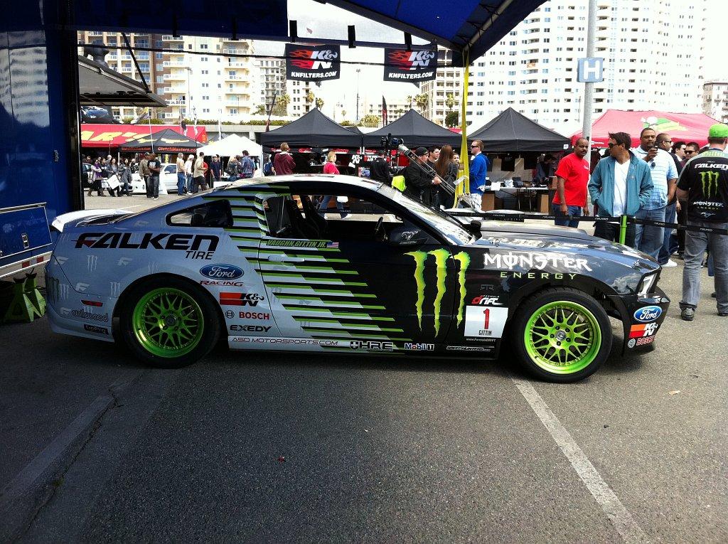 Vaughn Gittin Jr's Monster Energy Car