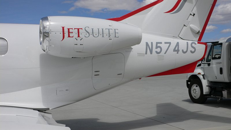 Jet Suite Supplied the Transportation