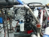 Diesel engine on the engine Dyno