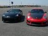 Lexus LFA, Porsche GT2 RS