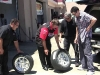 Mark, Sandy, Adam at America's Tire