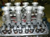 Close up of the TWM Injectors