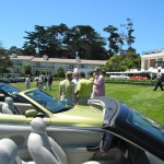 Pebble Beach Saab Parking Lot