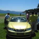 Saab loaner Car