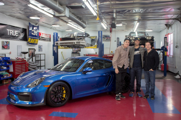 CJ Wilson CarCast Garage